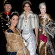 The Danish Royal Fashion at the New Year's Court