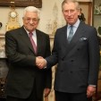 President Abbas of Palestine and the Prince of Wales