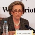 Queen Paola at the ICMEC meeting in Cairo