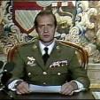 King Juan Carlos I on February 23, 1981