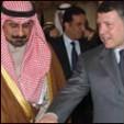 Sheikh Mohammed Sabah and King Abdullah
