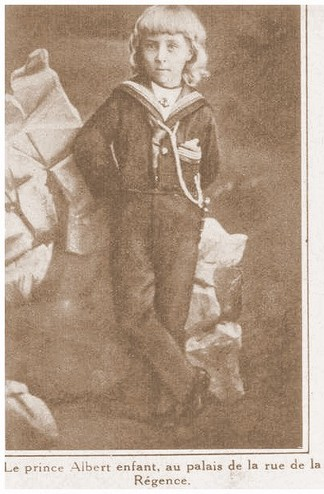 Albert as a child
