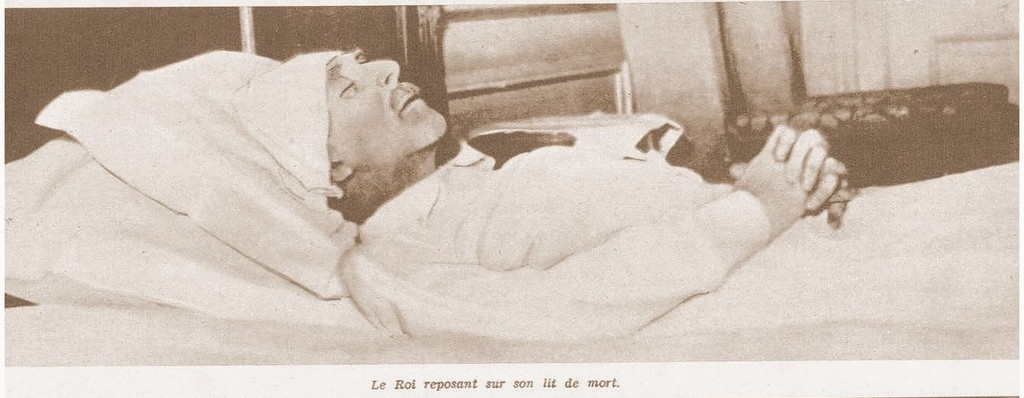 Albert on his deathbed