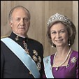 King Juan Carlos I and Queen Sofia of Spain