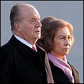 King Juan Carlos and Queen Sofia en route to the Caribbean
