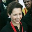 Princess Haya during the 2009 walkathon
