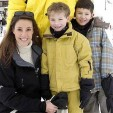 Princess Marie with Princes Felix and Nikolai