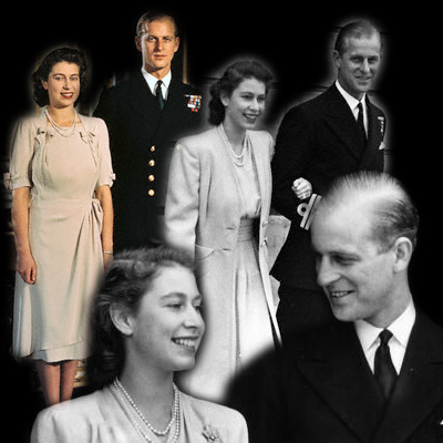 Princess Elizabeth's engagement fashion