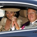 King Albert II & Queen Paola holding hands, National Day 2007. TRF Avatar Gallery