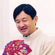 Prince Naruhito relaxing at home with his family