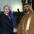 Prime Minister Putin and Sheikh Mohammed