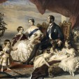 The Winterhalter portrait of the Royal Family in 1846