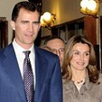 The Prince and Princess of Asturias at the celebrations