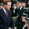 Prince William meets the police