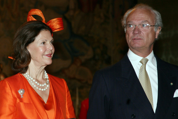 The Swedish King and Queen in Italy