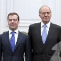 President Medvedev and King Juan Carlos