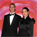 Pierre and Charlotte Casiraghi at the 2008 Rose Ball