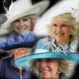 A selection of The Duchess of Cornwall's Philip Treacy hats