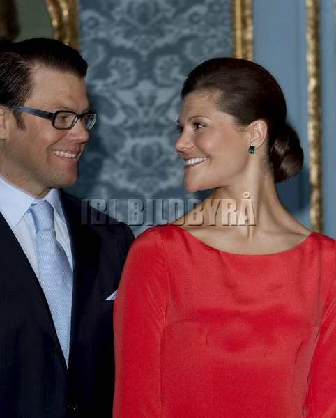 Princess Victoria and Daniel Westling