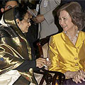 Queen Sofia and President Patil