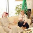 Prince Alwaleed and Princess Astrid