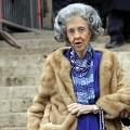 Queen Fabiola last November - Belga