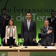 The Princes with the Colombian President at the terrorism congress