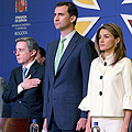 Felipe and Letizia in Colombia