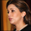 Princess Haya at the conference