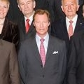 Grand Duke Henri during the audience
