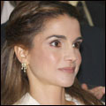 Queen Rania at the Ahel Al Himmeh award ceremony