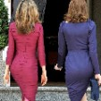 The Princess of Asturias (L) and Carla Bruni-Sarkozy (R)