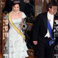 Crown Princess Mary at the gala dinner