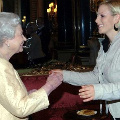 The Queen and Zara Phillips
