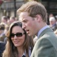 Kate Middleton and Prince William at the Cheltenham Festival in March 2007