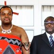 King Mswati and President Mugabe