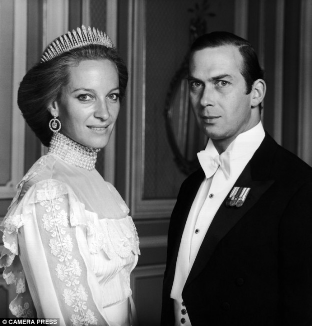 Wedding of Prince Michael of Kent and Baroness Marie-Christine von ...