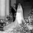 Albert and Paola on their wedding day