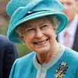 The Queen wearing a Sri Lankan brooch
