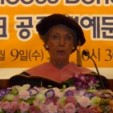 Princess Benedikte at the ceremony in South Korea