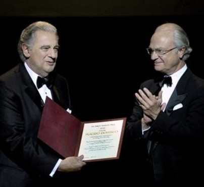 King Carl Gustaf at the Birgit Nilsson Prize Ceremony