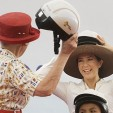 Queen Margrethe and Princess Mary at Maersk