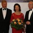 King Carl Gustaf and Queen Silvia with the Mayor of Hamburg