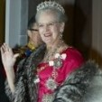 Queen Margrethe II at the 2010 New Year's Court