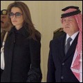 King and Queen of Jordan Receive Bodies of Jordanian Peacekeepers