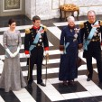 The Danish Royals at the second New Year's Court of 2010