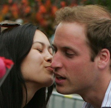 Prince William Kiss