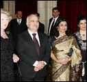 Queen Beatrix, Prince El Hassan, Princess Sarvath and Princess Sumaya