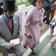 Princess Haya at the 2009 Royal Ascot, in Armani Prive