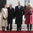 TRH with President and First Lady President Kaczynski